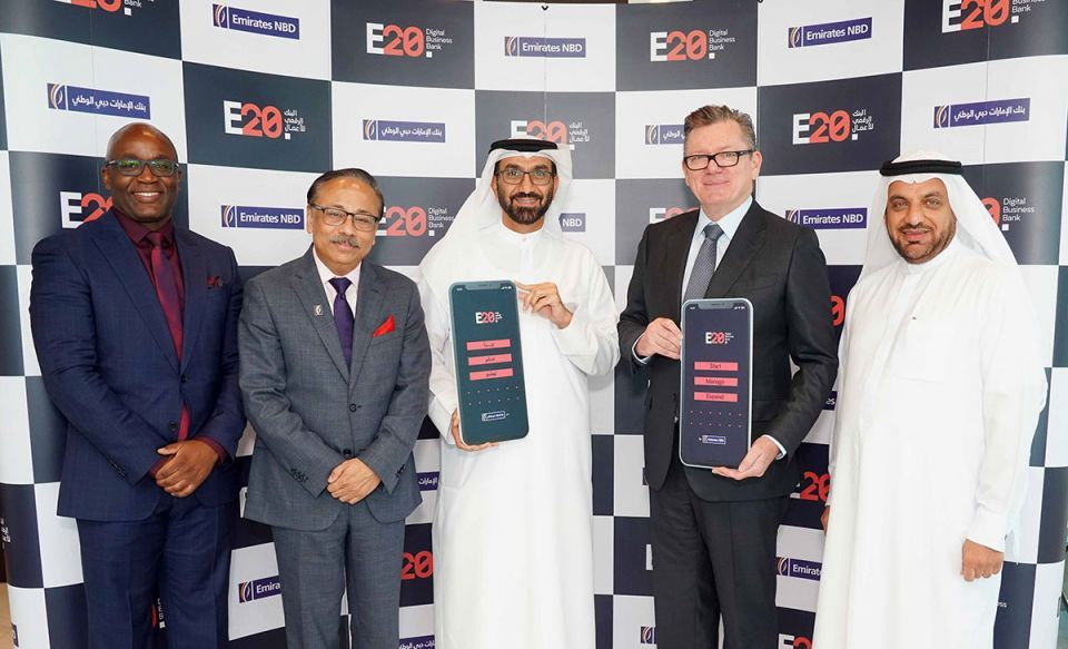 Emirates NBD launches UAE's first digital business bank