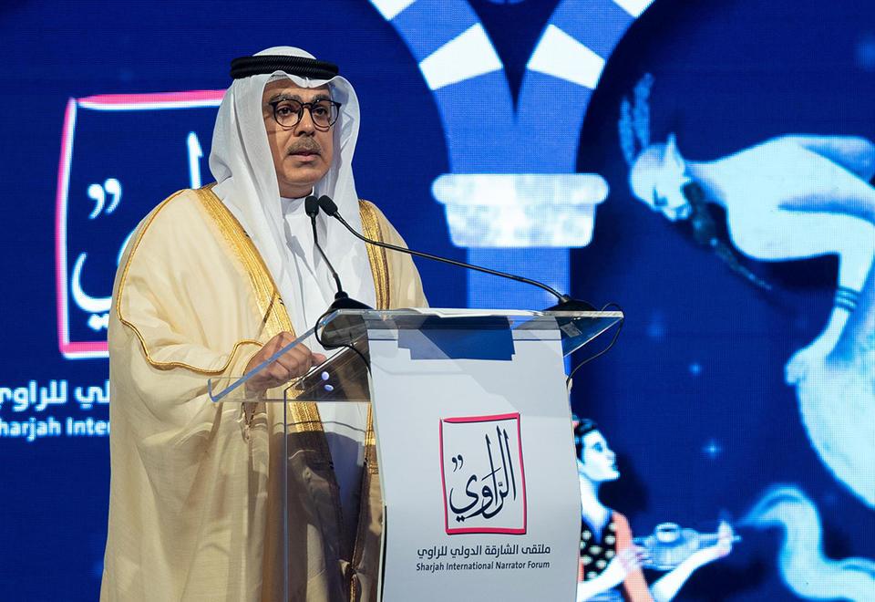 Gallery: Narrators Forum kicks off at the Expo Centre Sharjah