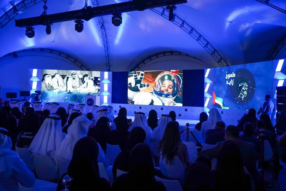 Star man: UAE celebrates its first astronaut in space