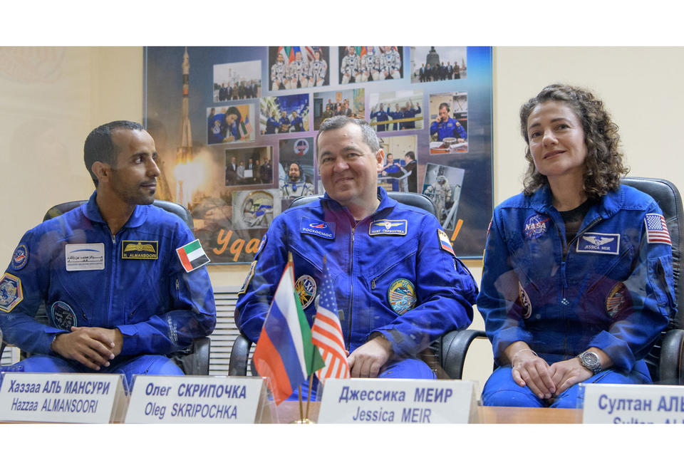 Gallery: Hazzaa al-Mansoor, first Arab set for ISS mission to space