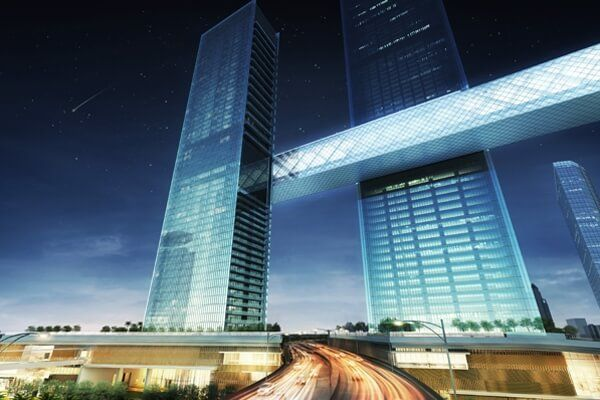 Plan revealed to lift world's longest cantilever into place in Dubai