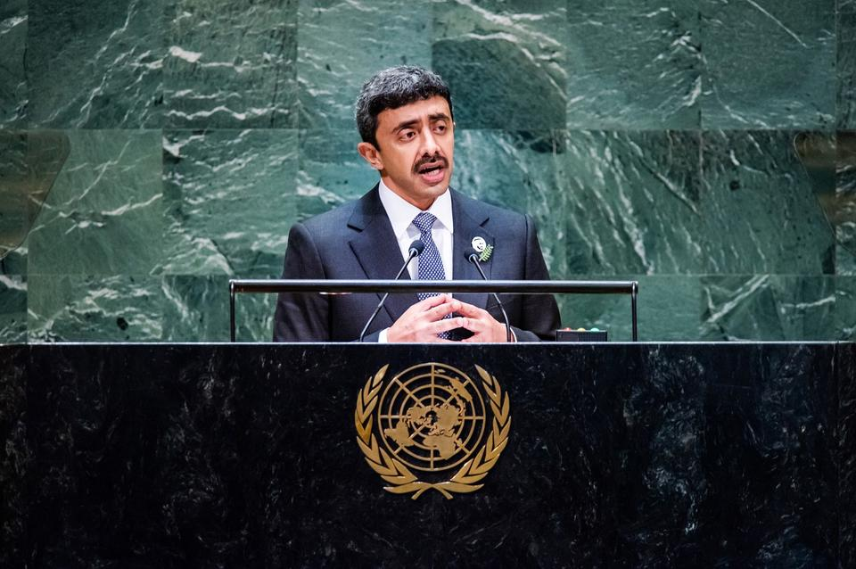 Development and investment will achieve prosperity, Sheikh Abdullah tells UN General Assembly