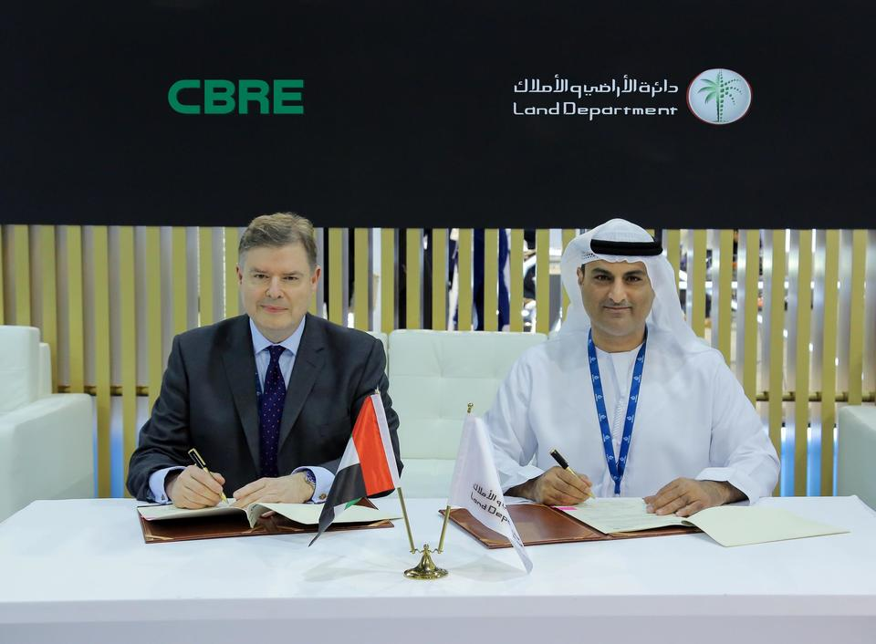 CBRE to provide real estate analysis for Dubai Land Department