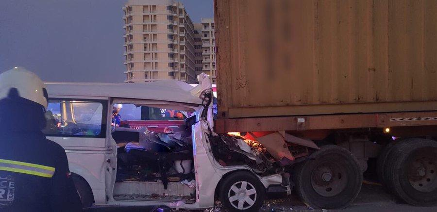 8 killed, 4 seriously injured in Dubai road crash