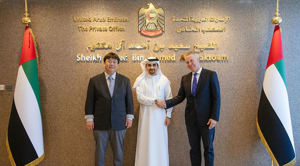 Samsung-backed blockchain company partners with Dubai royal family
