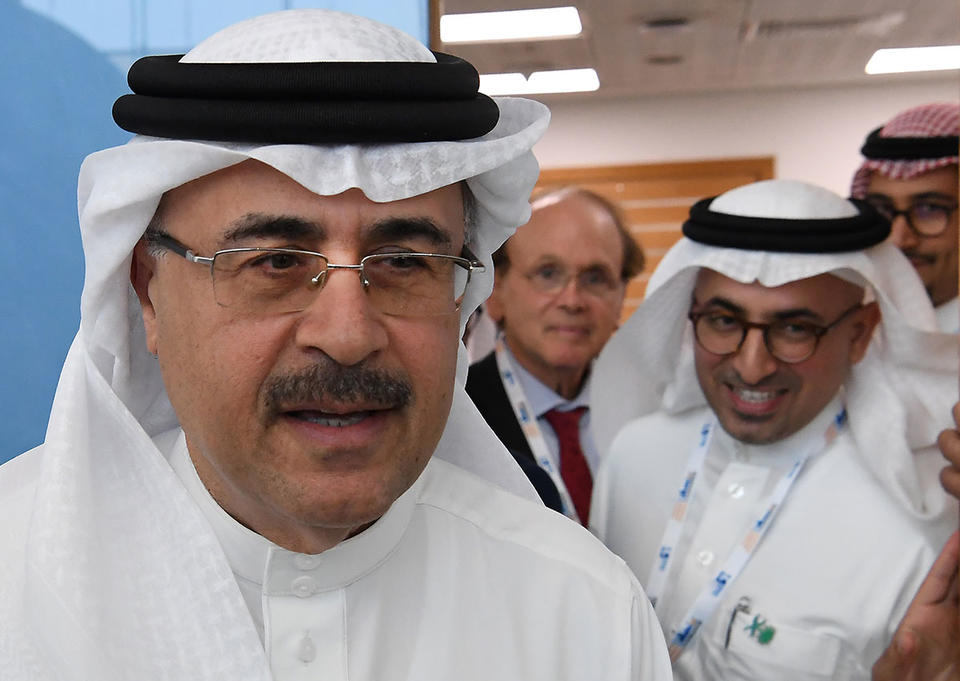 'You're basically a rock star if you work for Saudi Aramco'