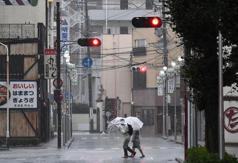 Gallery:  Aftermath of Typhoon Hagibis in Japan