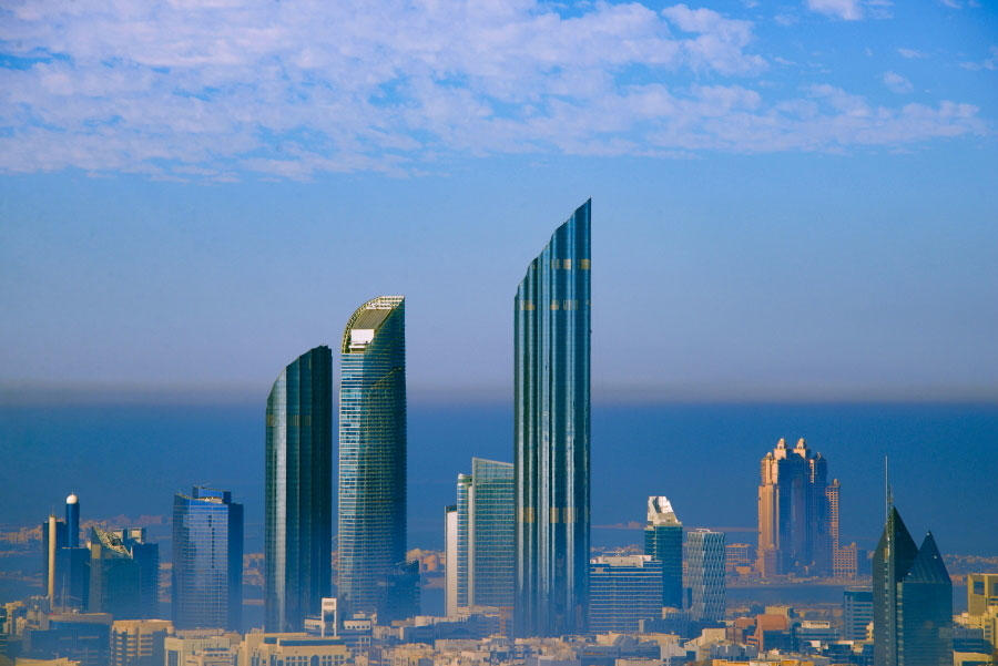 Average Abu Dhabi office rents fall by over 9%