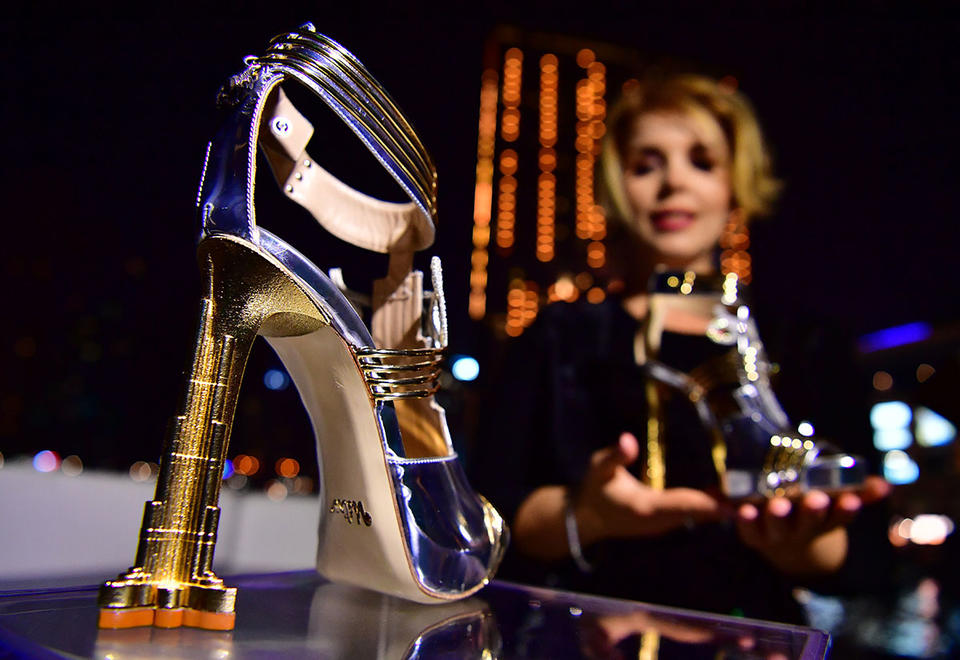 Gallery: Most expensive shoes in the world - costing $19.9m - unveiled in Dubai
