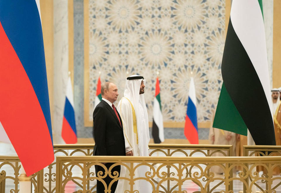 In pictures: Russian President Vladimir Putin's official visit to the UAE