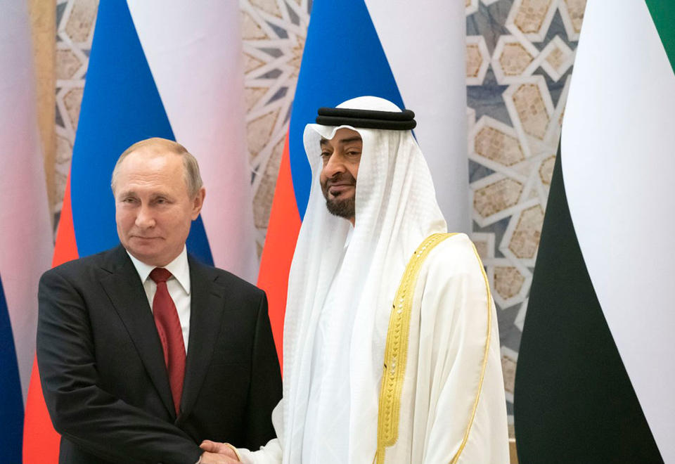 Russian President Putin signs $1.3bn investments during UAE visit