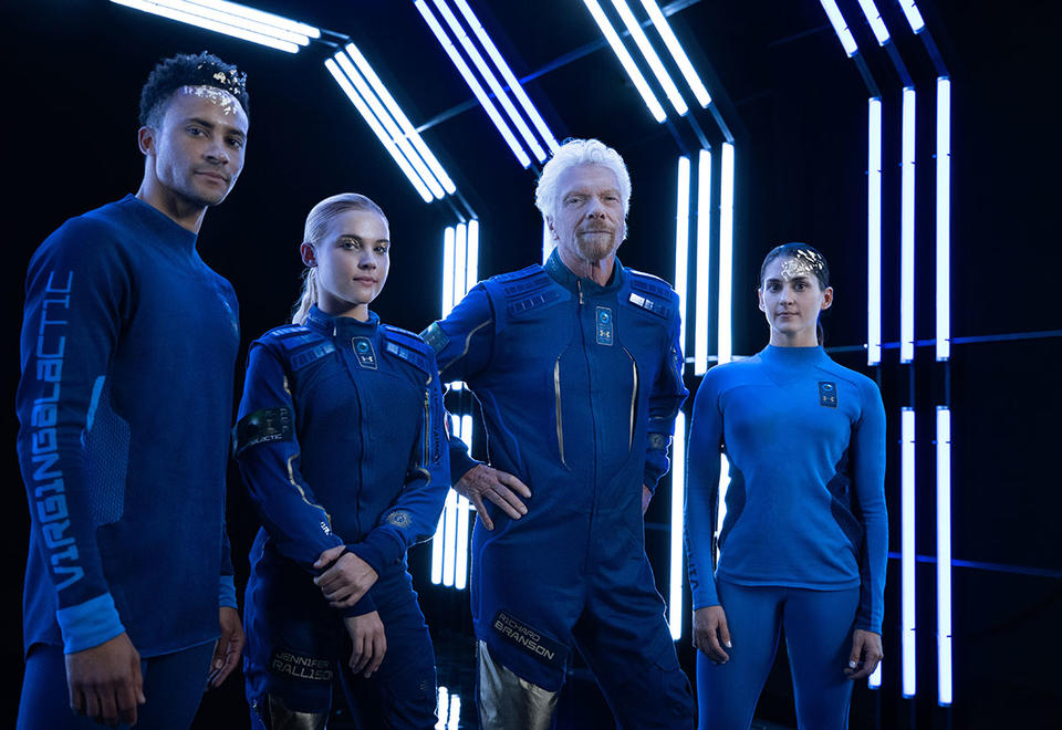 Gallery: Virgin Galactic, Under Armour reveals world's first private astronauts space wear