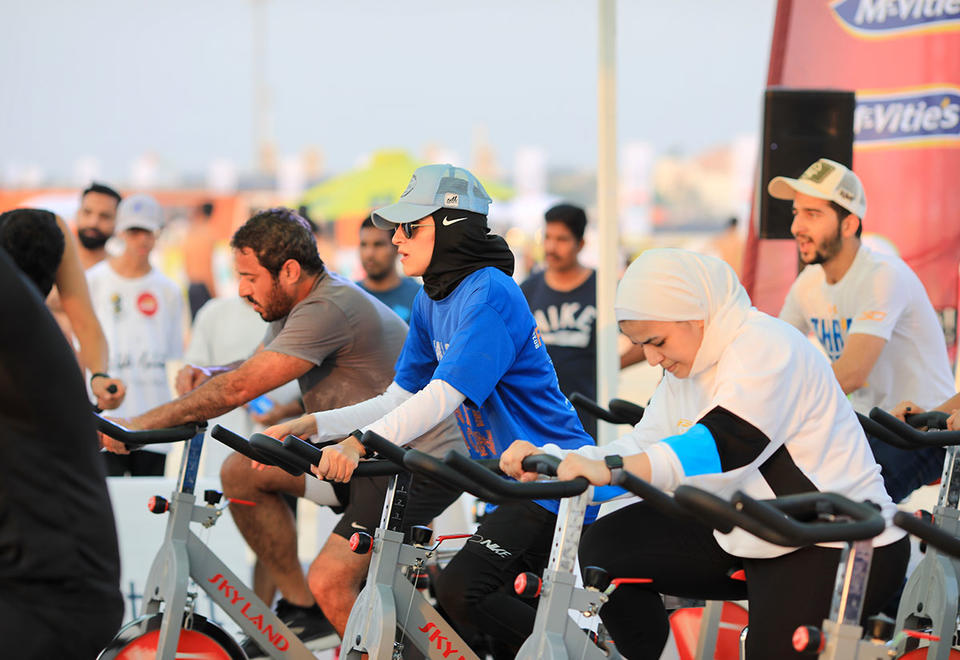 In pictures: Dubai Fitness Challenge is back