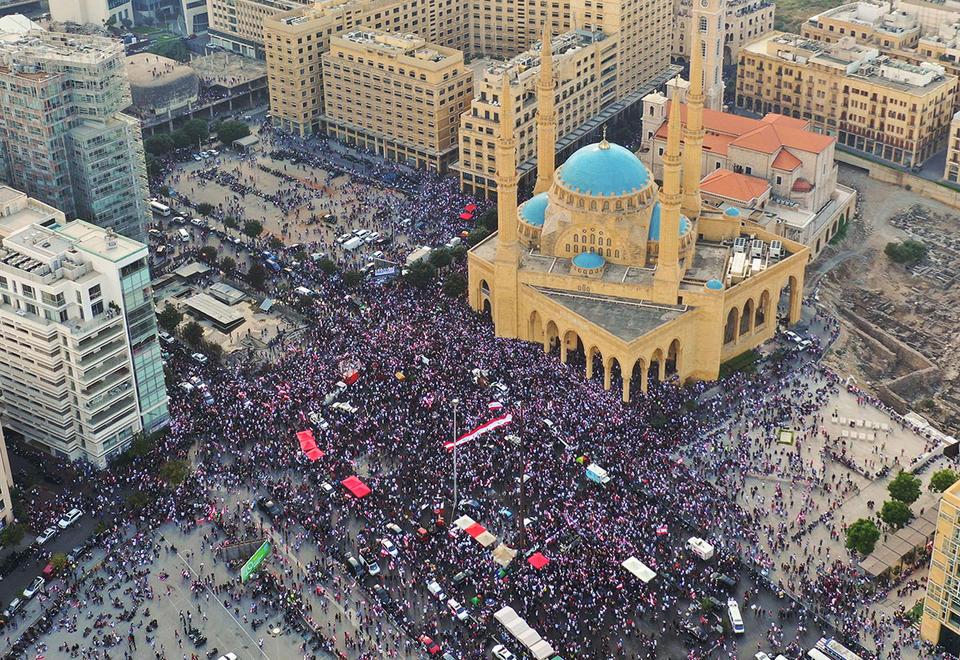 S&P downgrades protest-hit Lebanon's sovereign debt