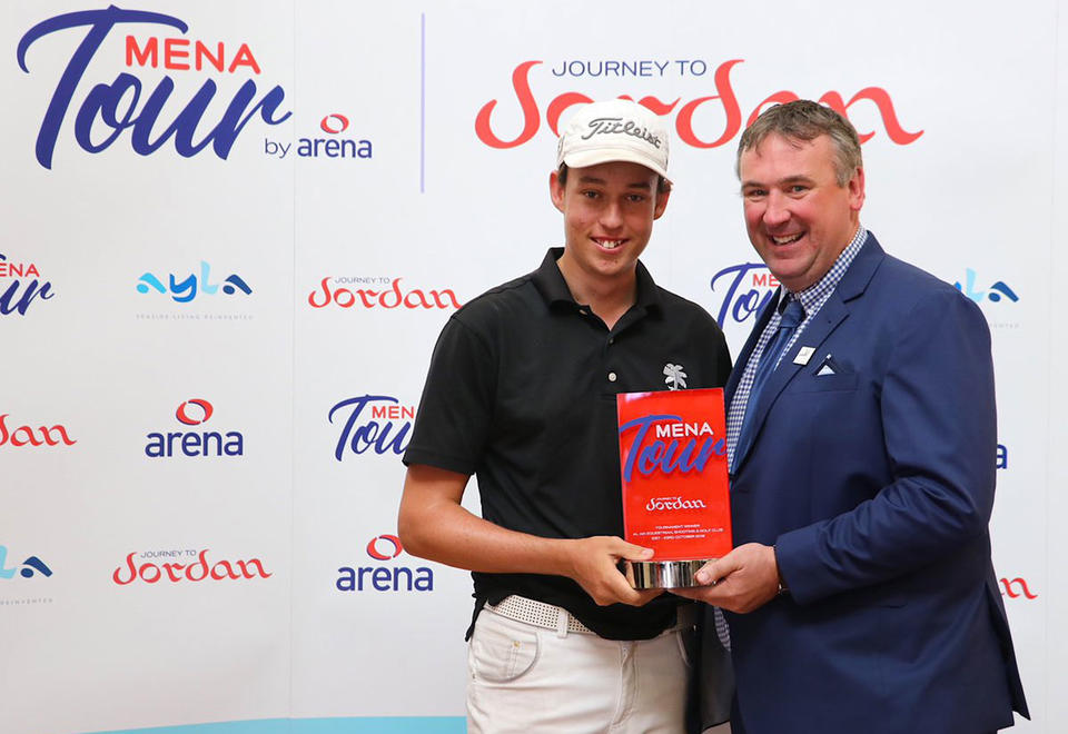 15-year-old British golfer makes history in the UAE
