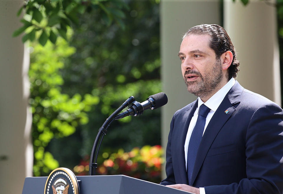 Lebanon PM Saad Hariri resigns after two weeks of protests
