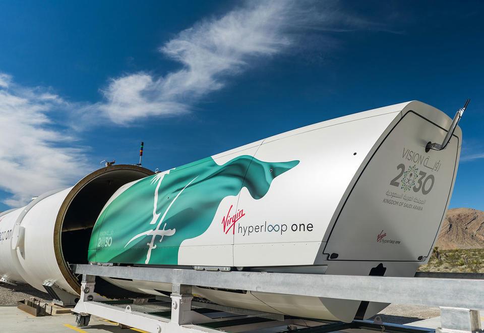 UAE-backed Virgin Hyperloop One in the Middle East - unplugged