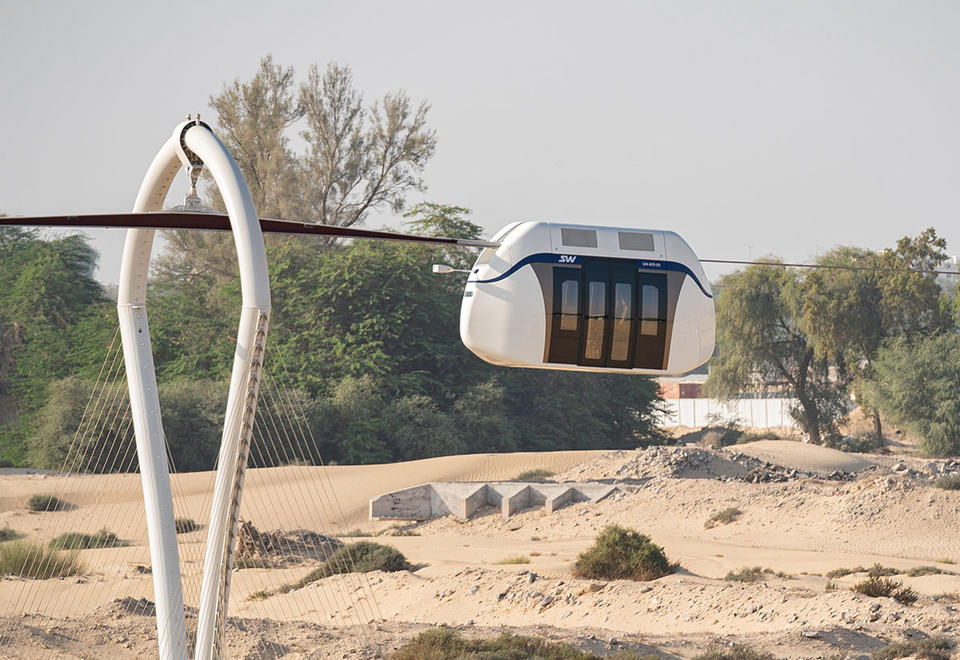 SkyWay: UAE's driverless pods, cable car project takes shape