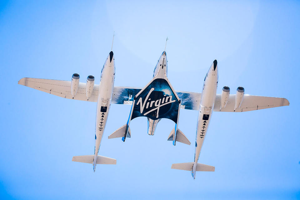 Richard Branson splits up $1.7bn stake in Virgin Galactic