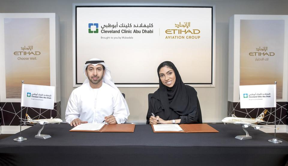 Etihad, Cleveland ink deal to promote Abu Dhabi as medical tourism destination