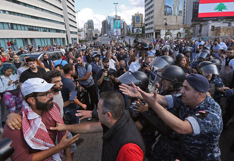 Lebanon protesters angered by Prime Minister pick