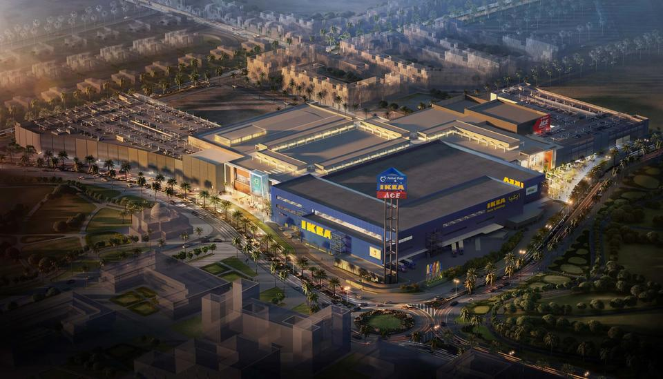 Why IKEA's new Dubai store should be easy to find