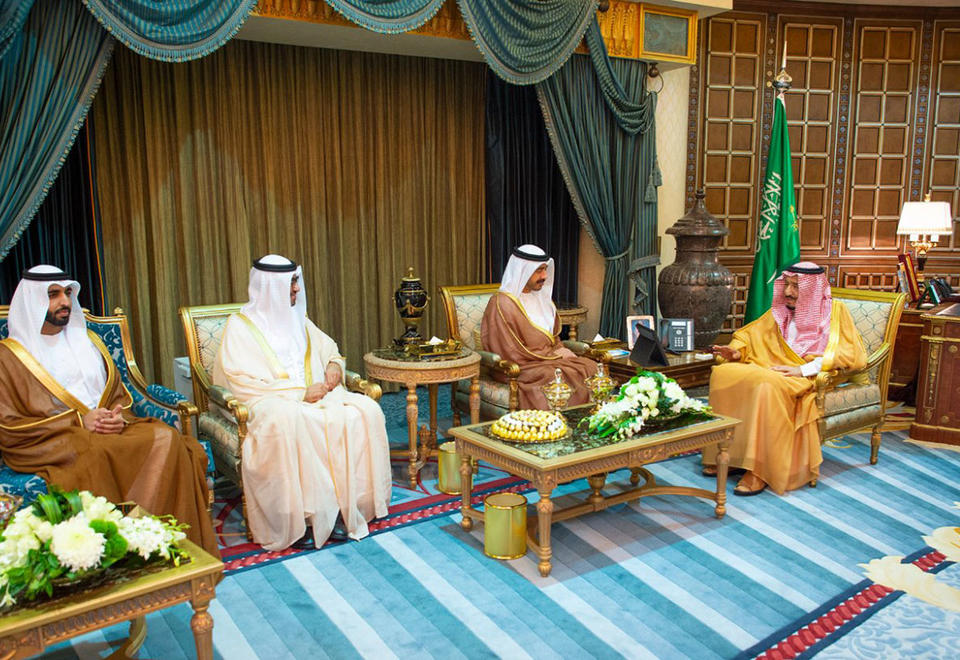 In pictures: King Salman receives Sheikh Abdullah bin Zayed in Riyadh