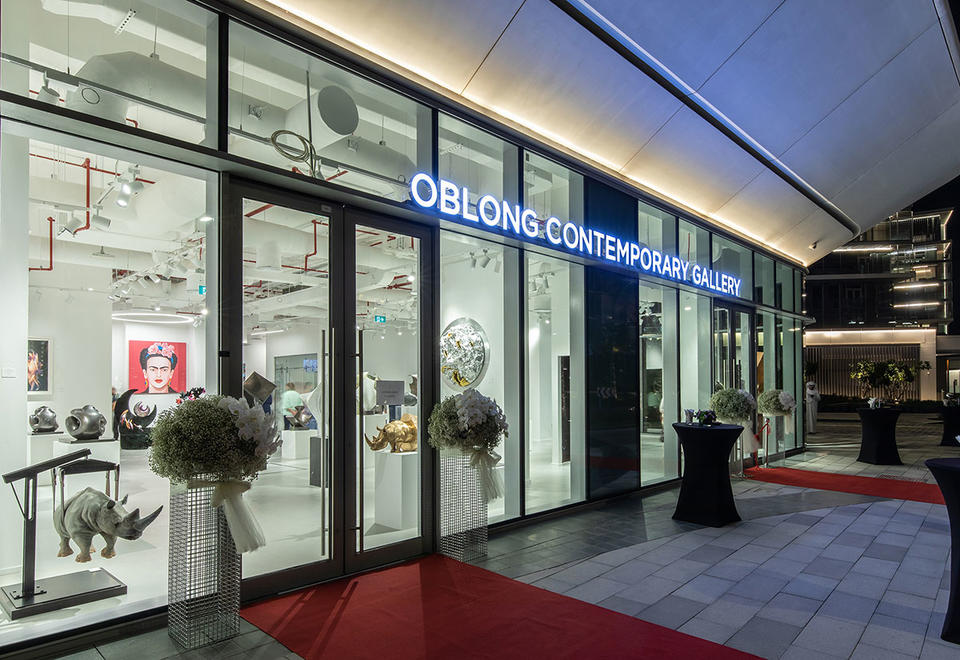 In pictures: Opening of Oblong contemporary Gallery in Dubai