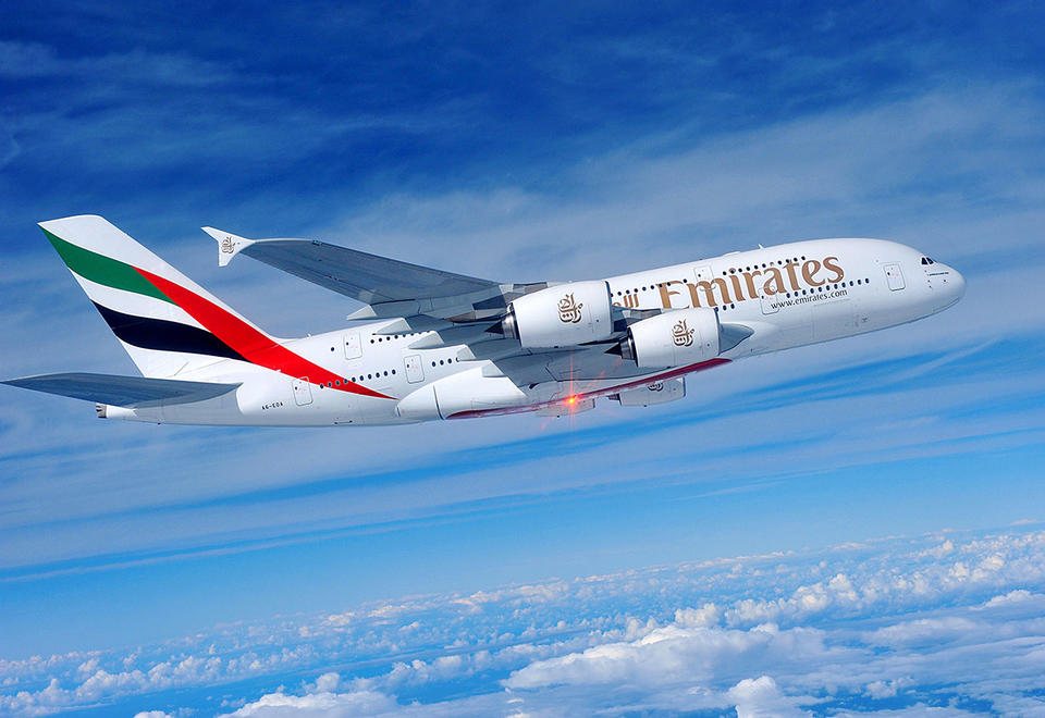 Emirates to launch one-off A380 service to Clark