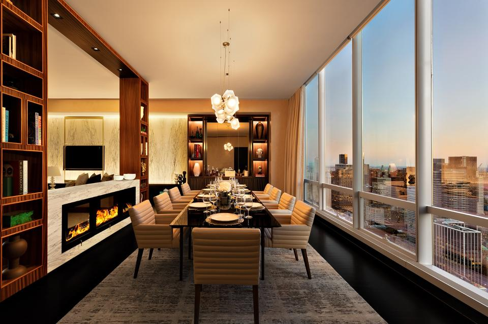 in pictures inside the new york hotel suite that costs