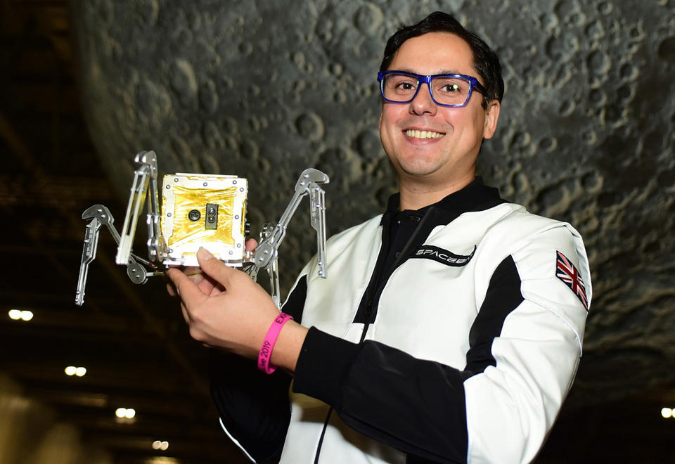 Spacebit founder Pavlo Tanasyuk looking for UAE help to get to the moon