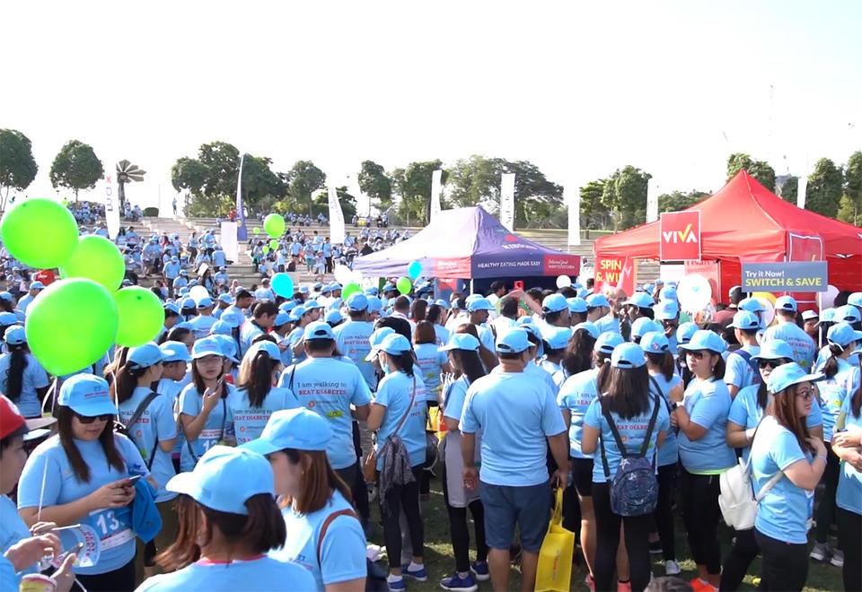 20,000 people take part in Dubai diabetes walkathon