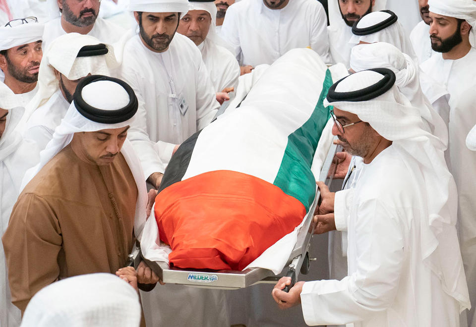 In pictures: UAE leaders attend funeral for Sheikh Sultan bin Zayed
