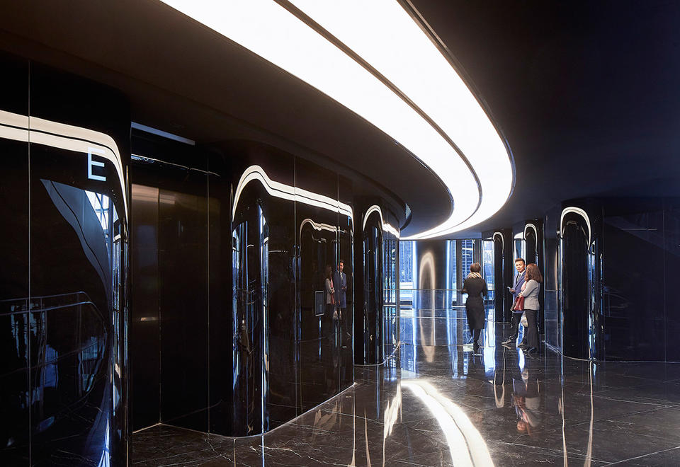 In pictures: Zaha Hadid Architects' newly opened Leeza Soho tower in Beijing