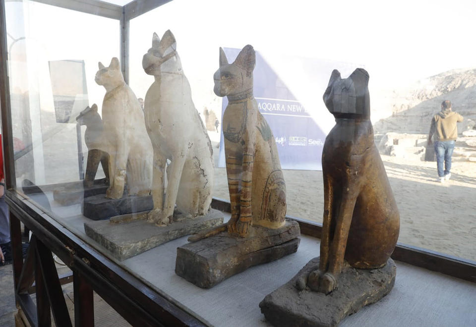In pictures: New archaeological discovery in the Egypt
