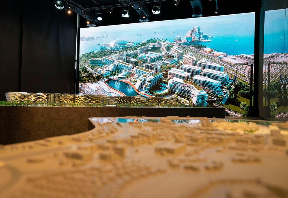 In pictures: Abu Dhabi Aldar's Saadiyat Grove next mega project