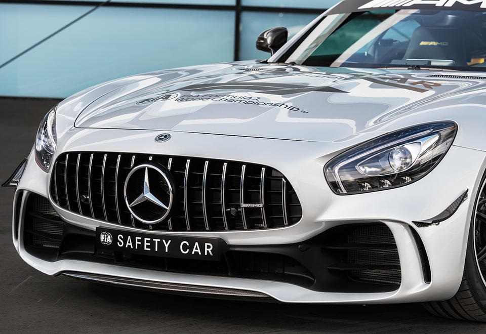 11 things to know about the most powerful F1 safety car Mercedes-AMG GT R