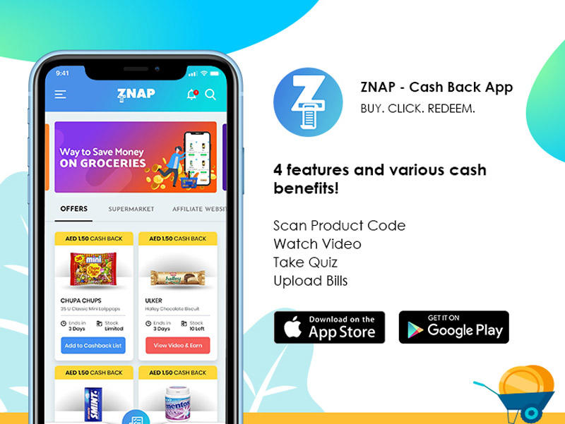 The cashback world opens up in the UAE with Znap