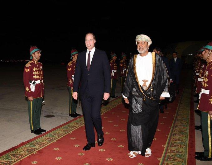 In pictures: Prince William's visit to Kuwait, Oman