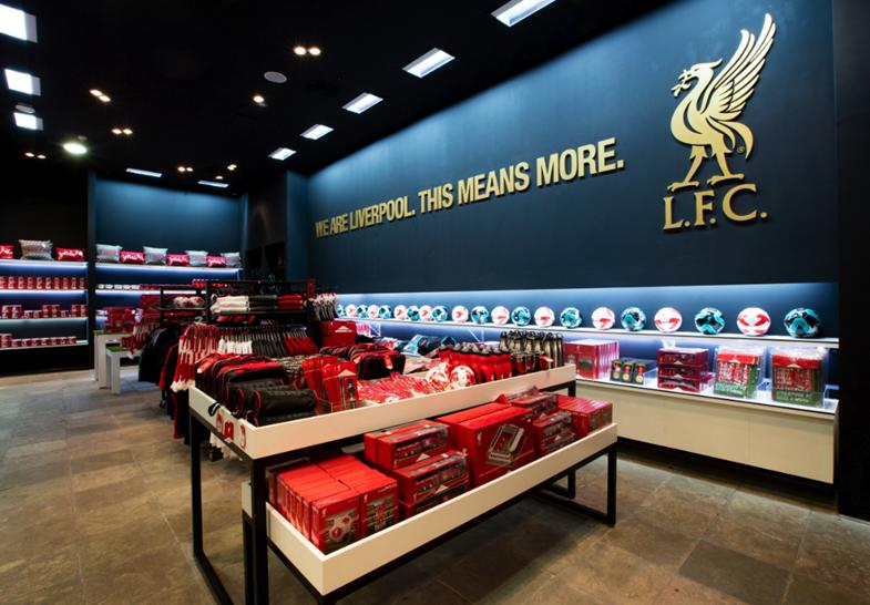 First official Liverpool FC store opens in Dubai