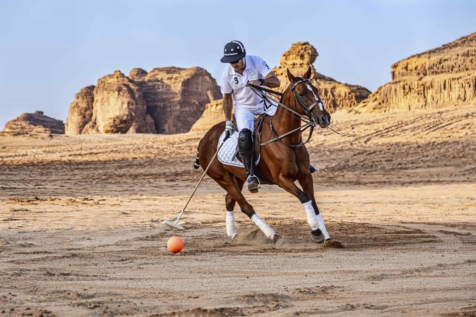 In pictures: World's first desert polo at Saudi Arabia's Al Ula heritage site