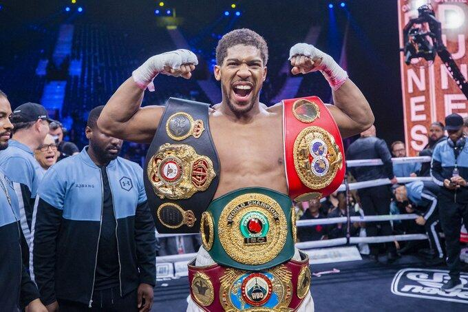 Anthony Joshua title defence pushed back to at least October