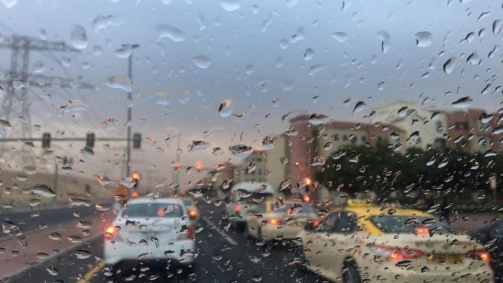 Heavy rain across UAE causes chaos on morning commute