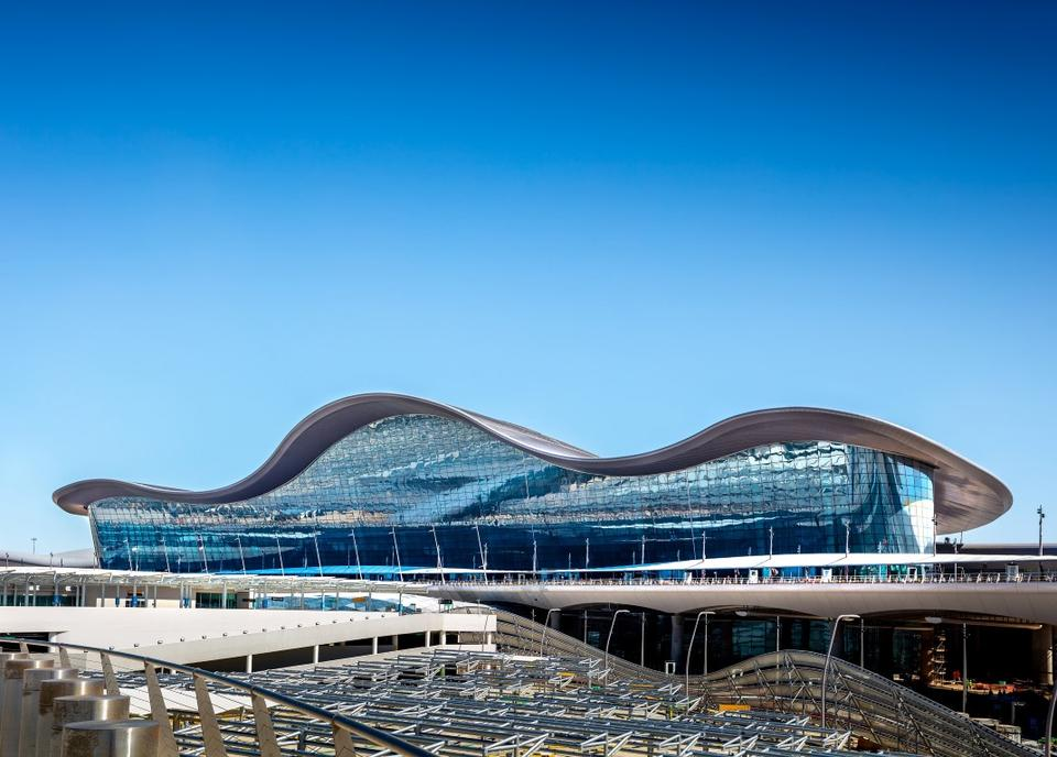 In pictures: Latest images of the Midfield Terminal project in Abu Dhabi
