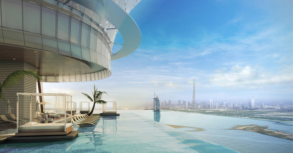 One of world's highest pools to open in Dubai in Q4 2020