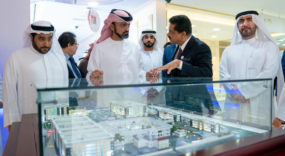 Ajman crown prince launches $272m medical city project