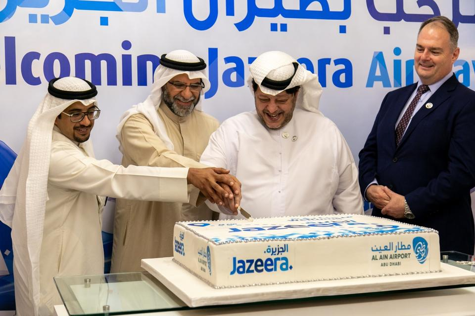 In pictures: Jazeera Airways launches new service to Al Ain International Airport