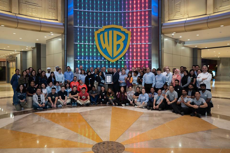 Warner Bros. World Abu Dhabi named world's largest indoor theme park