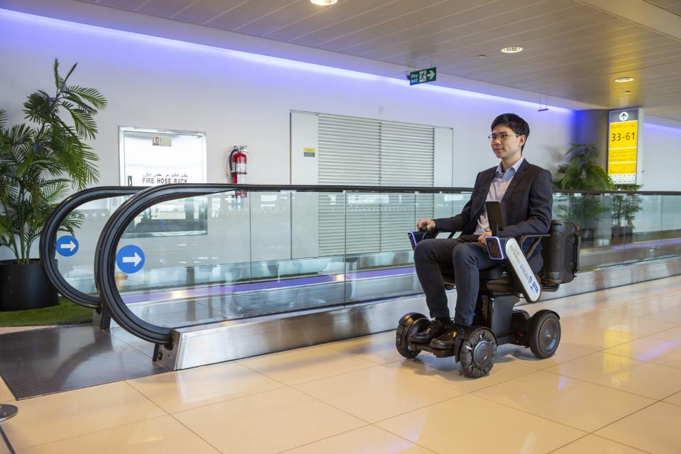 Autonomous wheelchairs trial completed at Abu Dhabi International