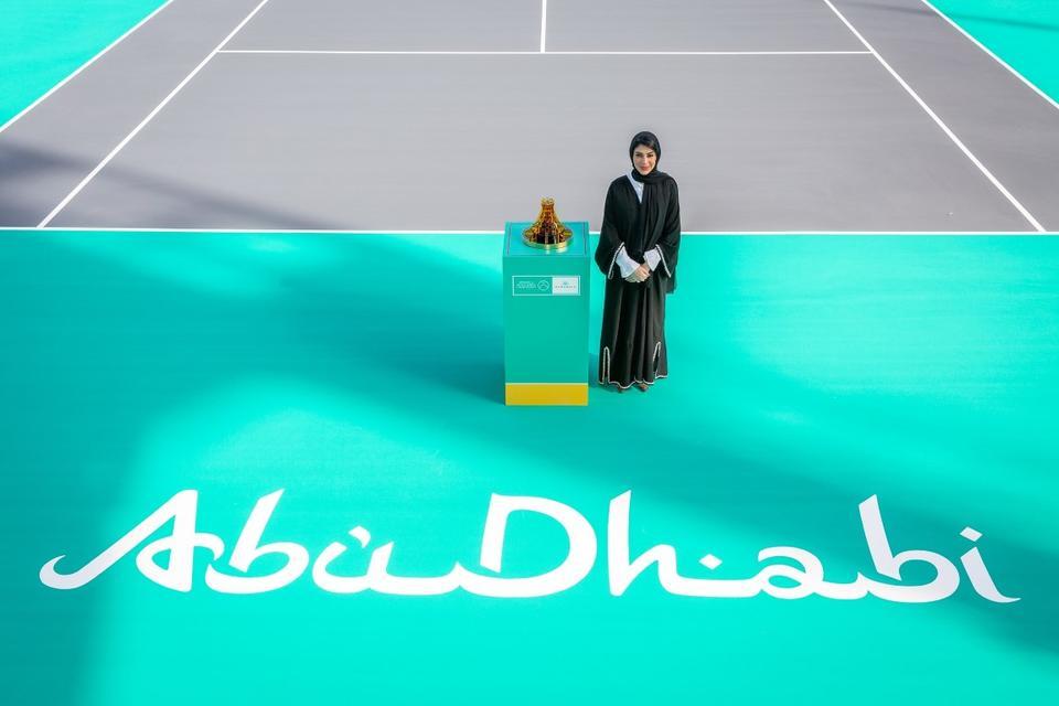 Mubadala unveils Abu Dhabi-inspired World Tennis Championship trophy